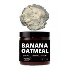 Banana Oatmeal Cleansing Dough / Sensitive Skin Face Wash