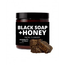 African Black Soap with Clay & Honey Face Scrub for Acne