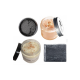 Charcoal Sea Salt Gift Set / Face Scrub / Black Soap / Face Mask / Bath Salts