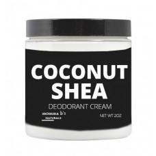 Coconut Shea Deodorant Cream / Aluminum Free