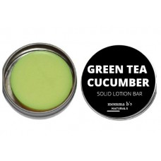 Solid Lotion Bar Green Tea Cucumber Mango