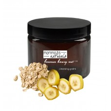 Face Mask Scrub Dry Aging Sensitive Skin Banana Honey Oat