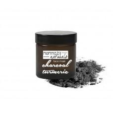 Charcoal Turmeric Face Mask / Acne / Anti-Aging / Scars / Detox / Sensitive Skin