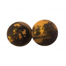 Bath Bombs / Charcoal / Gold Shimmer / Mystical Woods / 3 Large