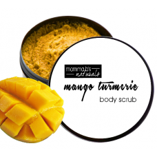 Face & Body Scrub Foaming Mango Turmeric Mint