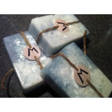 Frozen Sea Salt Peppermint Spearmint Soap SLS Free