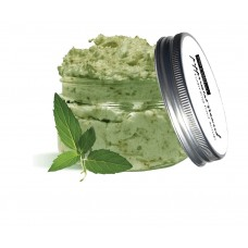 Foot Scrub Pedicure Cooling Mask Peppermint Seaweed Clay