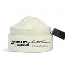 Lactic Lemon Exfoliating Face Scrub / Lightening / Anti Aging