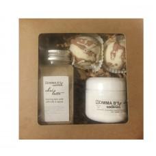 Bath Gift Set / Truffles / Foaming Bath Salt / Edible Massage Balm