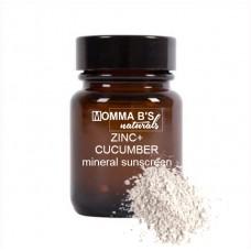 Sunscreen Powder / SPF Sunblock Makeup / Zinc & Cucumber / Zero Waste
