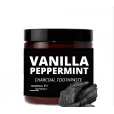 Charcoal Toothpaste / Remineralizing / Comfrey / Calcium Carbonate