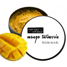 Mango Turmeric Mint Foaming Exfoliating Sugar Whipped Body Scrub