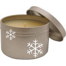 Eco Soy Christmas Holiday Fragrance Candle Tin